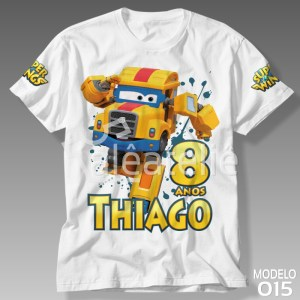 Camiseta Super Wings Poppa