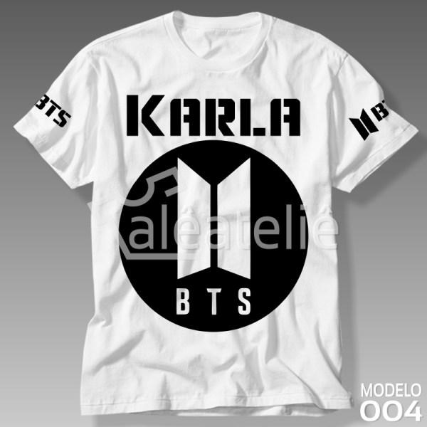 Camiseta Bangtan Boys Bts Kpop