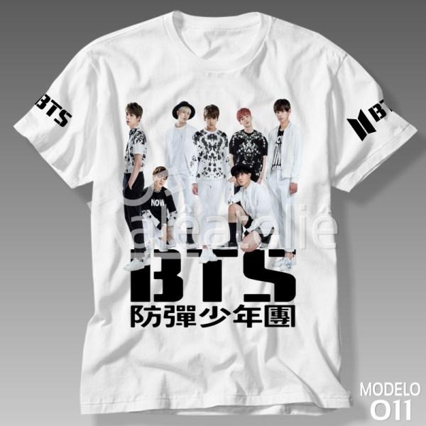 Camiseta Banda Bts