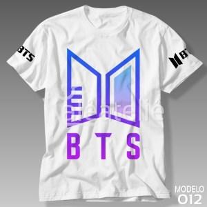 Camiseta Bts Army Personalizada