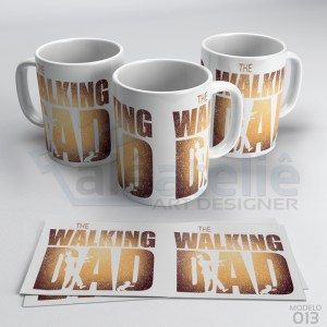 Caneca Papai The Walking Dad