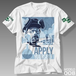 Camiseta Breaking Bad Apply