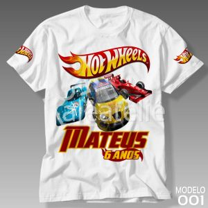 Camiseta Hot Wheels