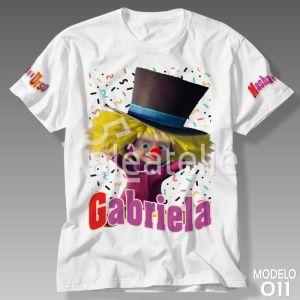 Camiseta Masha e Urso 011