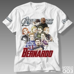 Camiseta Vingadores 003