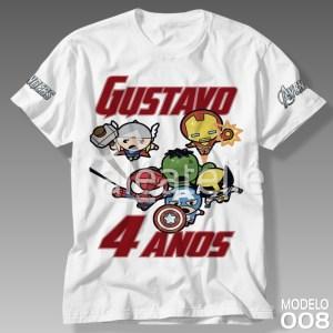Camiseta Vingadores 008