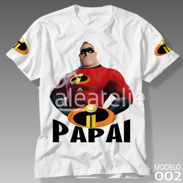 Camiseta Personalizada Os Incríveis