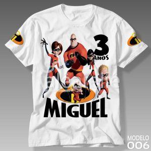 Camiseta Os Incríveis 2