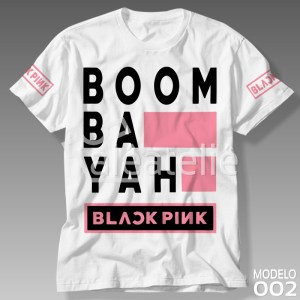Camiseta Black Pink 002