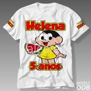Camiseta Turma da Mônica 008