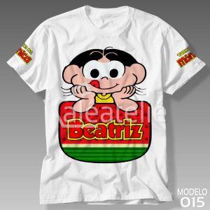 Camiseta Turma da Mônica 015