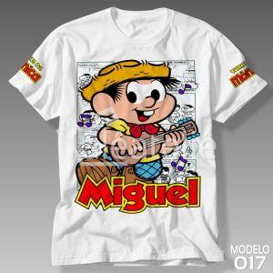 Camiseta Chico Bento Personalizada