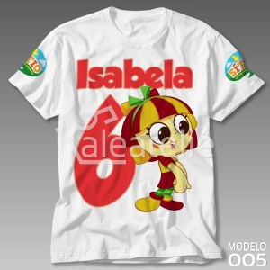 Camiseta Sitio Picapau Aniversário