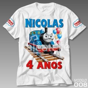 Camiseta Thomas Personalizada
