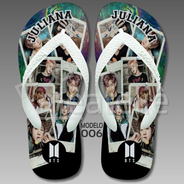 Chinelo BTS Boys