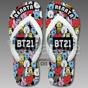 Chinelo BTS BT21
