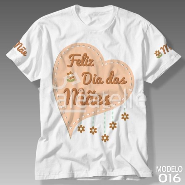 Camiseta Dia das Mães Floral