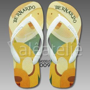 Chinelo Adventure Time Personalizado