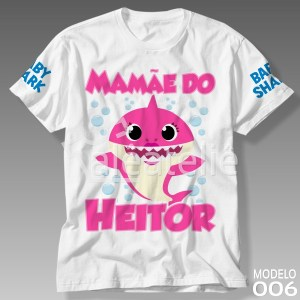 Camiseta Mommy Shark