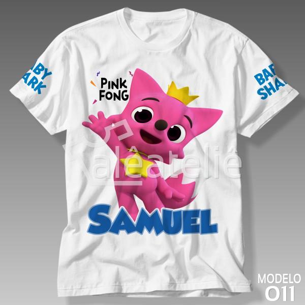 Camiseta Baby Shark Pinkfong