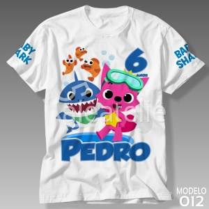 Camiseta Baby Shark Festa
