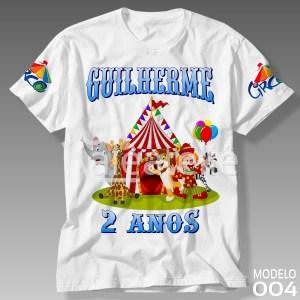 Camiseta Circo 004