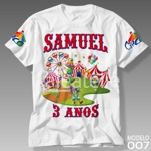 Camiseta Circo 007