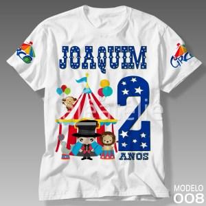 Camiseta Circo 008