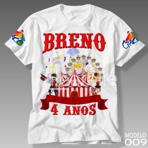 Camiseta Personalizada Circo