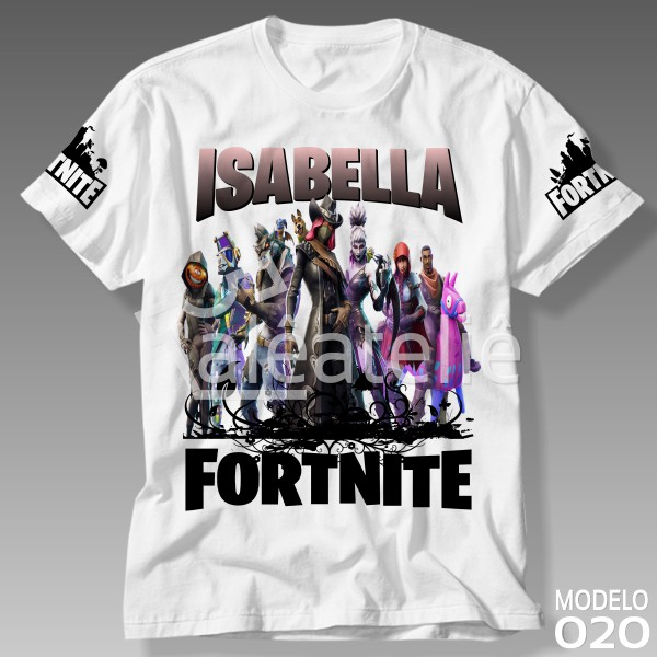Camiseta Fortnite Battle Royale