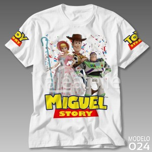 Camiseta Toy Story Betty Woody Buzz
