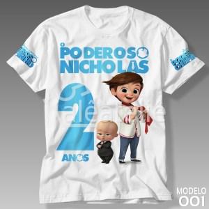 Camiseta Poderoso Chefinho 001