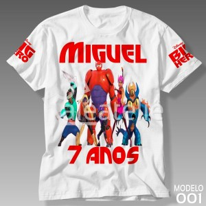 Camiseta Big Hero 001