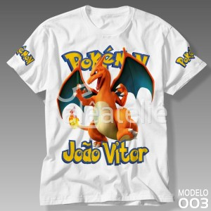 Camiseta Pokemon 003