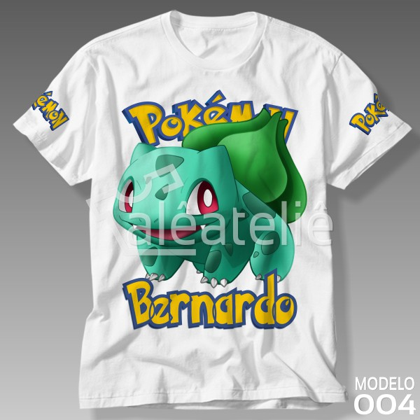 Camiseta Pokemon Bulbasaur