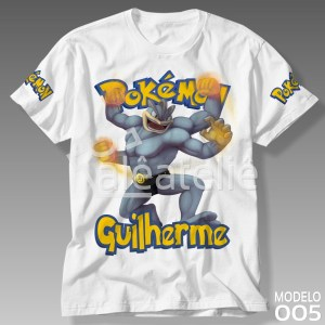Camiseta Pokemon Machamp