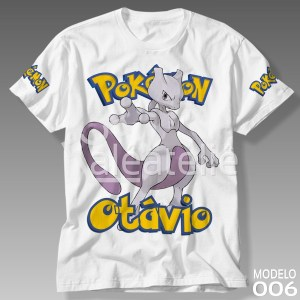 Camiseta Pokemon 006