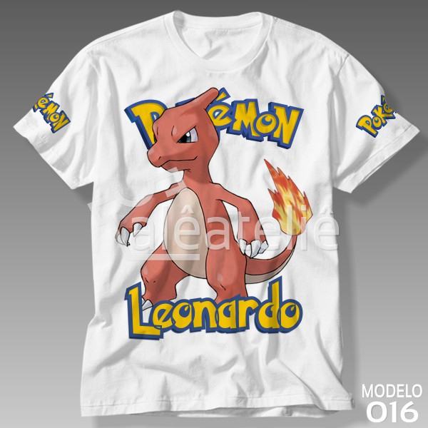 Camiseta Pokemon Charmeleon