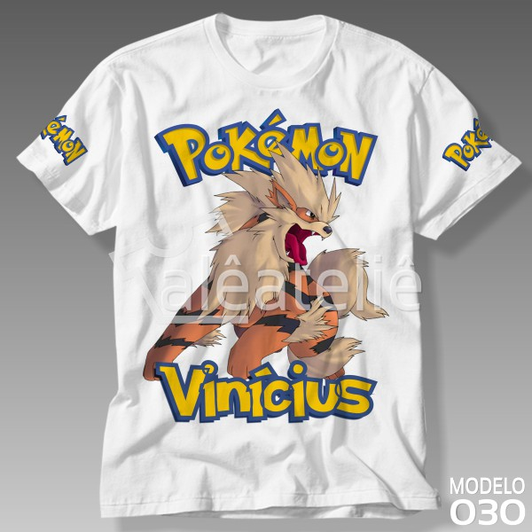 Camiseta Pokemon Arcanine