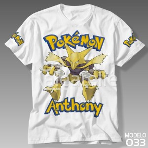 Camiseta Pokemon Alakazam