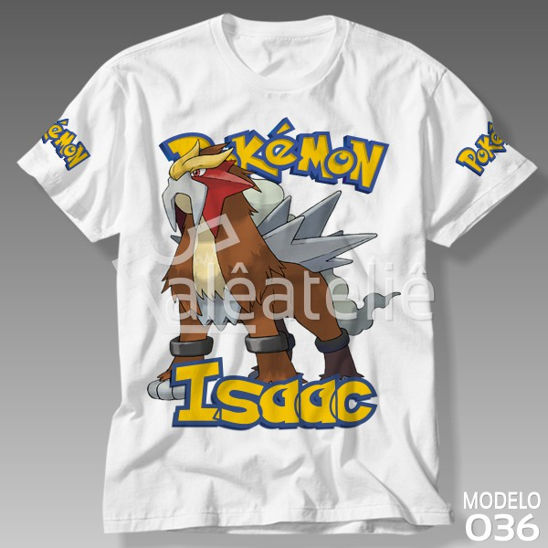 Camiseta Pokemon Entei