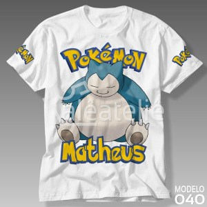 Camiseta Pokemon 040