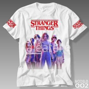 Camiseta Stranger Things 002