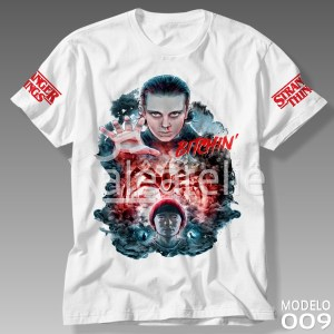 Camiseta Stranger Things 009