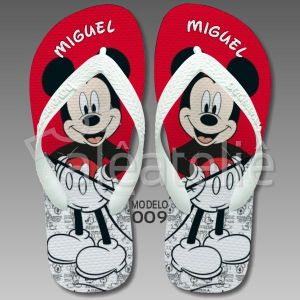 Chinelo Mickey Mouse 009