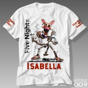 Camiseta Five Nights at Freddy 009