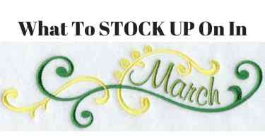 Alea's Deals What To STOCK UP On In March!