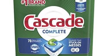 Alea's Deals Cascade Complete ActionPacs, Dishwasher Detergent, Fresh Scent, 78 count  – ON SALE➕SUB/SAVE!