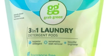Alea's Deals Grab Green Natural 3 in 1 Laundry Detergent Pods, Free & Clear/Unscented – ON SALE➕SUB/SAVE!