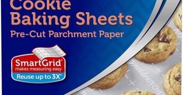 Alea's Deals Reynolds Kitchens Non-Stick Baking Parchment Paper Sheets, 22 Count  – ON SALE➕SUB/SAVE!